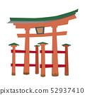 이츠 쿠시마 신사 52937410