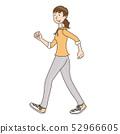 人/行走的女人 52966605