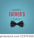Happy Fathers Day Background. Best Dad Vector 52970366