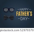 Happy Fathers Day Background. Best Dad Vector 52970370
