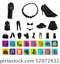 装饰品 黑色 单调 52972632