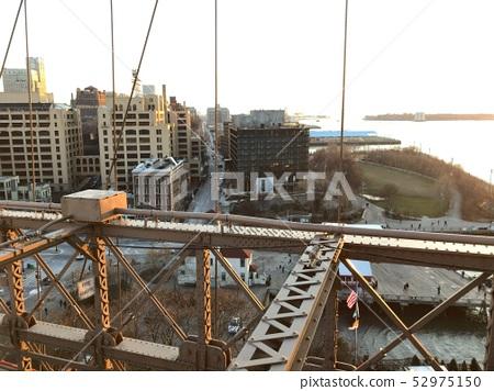 美国纽约布鲁克林大桥 52975150