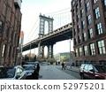美国纽约布鲁克林大桥 52975201