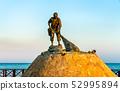 Fisherman fountain in Chetumal, Mexico 52995894