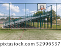 Sports playground for basketball and football by 52996537