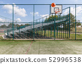 Sports playground for basketball and football by 52996538