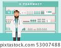 藥店 商店 藥物 53007488