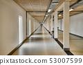 Corridor in a big building 53007599