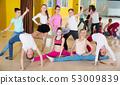 kids, group, dancing 53009839