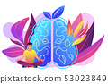 Mindfulness concept vector illustration. 53023849