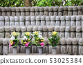 Stone statues of Jizo, Kamakura, Japan 53025384