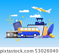 Online Booking Service for Best Summer Vacation 53026040