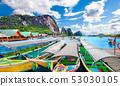 Scenic Phuket landscape.Seascape and paradisiacal 53030105