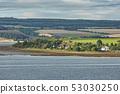 Seascape and landscape of Invergordon in Scotland, 53030250