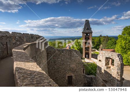 Castle Frankenstein in beautiful Odenwald, Germany 53047948