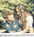 caucasian, couple, woman 53072439