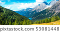 Mountain panorama of the Dolomites 53081448