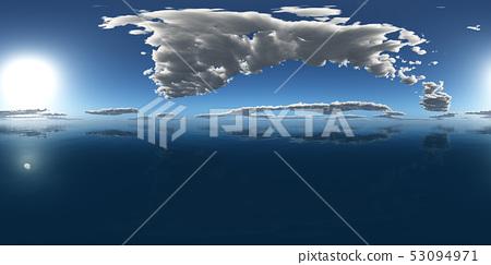 Spherical 360 degrees seamless panorama 53094971