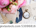 antique mail and clock 53096816