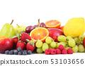 fruit on white background 53103656