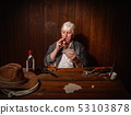 saloon card player 53103878