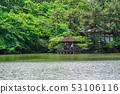 도쿄 봄의 샤 쿠지이 공원 (삼보 寺池) 53106116