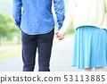 握手的夫婦 53113885