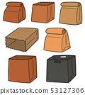가방, 핸드백, 갈색 53127366