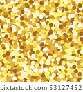 Shining gold glitter texture vector seamless pattern. Sparkle glitter seamless background. 53127452
