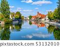 Landshut medieval Old Town, Bavaria, Germany 53132010