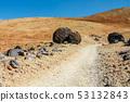 hiking path to the summit towards sandy Montana 53132843