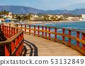 seaside promenade in La Cala De Mijas, Costa del 53132849