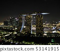 新加坡夜視圖無人機鳥瞰圖2 53141915