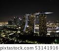 新加坡夜視圖無人機鳥瞰圖3 53141916