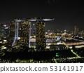 新加坡夜視圖無人機鳥瞰圖4 53141917