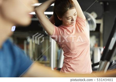 女子運動服訓練 53143401