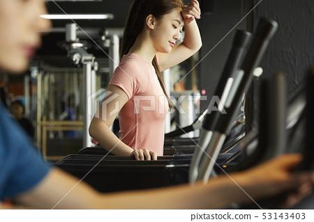 여성 스포츠웨어 교육 53143403
