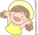 모자를 쓴 소녀 53146897