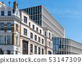 Cityscape with old and modern office buildings in London 53147309