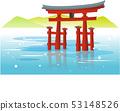 Otori at Itsukushima shrine 53148526