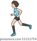 vector of man running 53152754