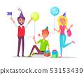 Happy Birthday Celebration , People Having Party 53153439