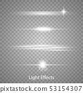 Optical lens flare light effects. 53154307
