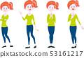 女性全身站立姿势集 53161217
