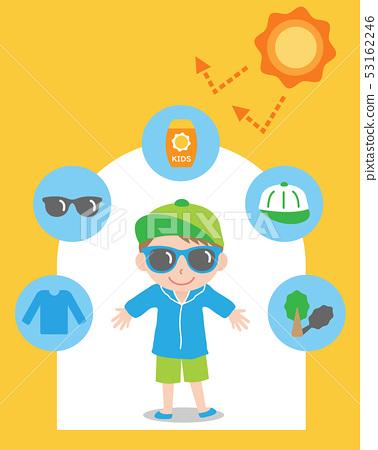 UV protection boy 53162246