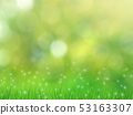 Happy summer and spring green background. 53163307