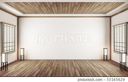 indoor empty room japan style. 3D rendering 53165629