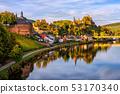 Saarburg Old town, Saar river, Germany 53170340