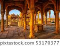 Bada Bagh tombs in Jaisalmer, Rajasthan, India 53170377
