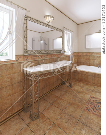 Forged Bathroom Vanities With A Mirror